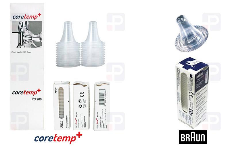Termometre Ateş Ölçer Prob Ucu Lens Filtresi