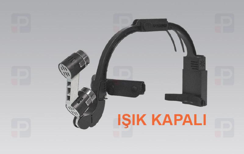 Dr. Kim Headlight DKH-50 lights off alın kafa lambası ışık kapalı