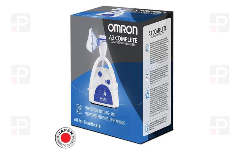 Omron Nebulizatör Nebulizer A3 Complete NE-C300-E Solunum Cihazı Japan Design