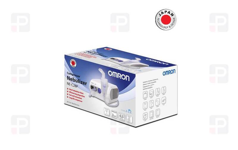 Omron Nebulizatör C28P-E Solunum Cihazı Japan Design Kutulu Nebulizer