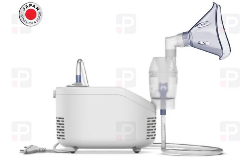 Omron Nebulizatör Nebulızer NE-C101-E japan design yetişkin çocuk solunum Cihazı